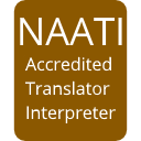 Certified legal translation by Australian Government